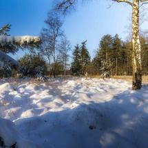 Oudmeer in de winter